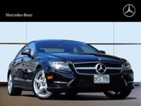 Check out this gently-used 2014 Mercedes-Benz CLS-Class
