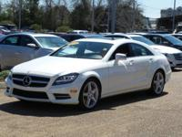 Options:  2014 Mercedes Cls-Class Cls550|Diamond White
