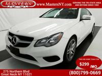 This Amazing White 2014 Mercedes-Benz E350 4Matic Coupe