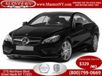 This Lovely Black 2014 Mercedes-Benz E350 4Matic Coupe