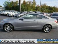 Mercedes Benz E350 Coupe. Sport Package with