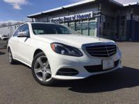 Come take a look at our Polar white E350 4MATIC!  This