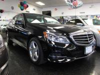 Bold and beautiful, this 2014 Mercedes-Benz E-Class is