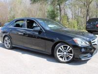 This 2014 Mercedes-Benz E-Class E350 in Black features: