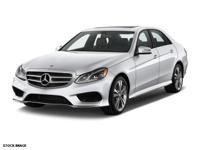 This 2014 Mercedes-Benz E-Class E 550 4MATIC includes