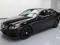 This awesome 2014 Mercedes-Benz E-Class comes loaded