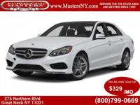 This Lovely White 2014 Mercedes-Benz E350 4Matic Sport