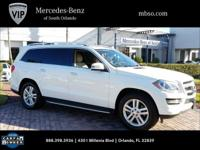 Certified. CARFAX One-Owner. Polar White **MERCEDES