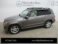 2014 Certified Pre-Owned GLK350w4 Pebble Grey Metallic