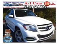 This is a beautiful 2014 MERCEDES-BENZ GLK-CLASS 4 DOOR