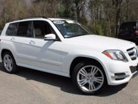 This 2014 Mercedes-Benz GLK-Class GLK350 in Polar White