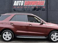 This 2014 Mercedes-Benz M-Class 4dr 4MATIC 4dr ML 350