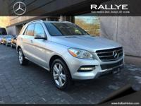 This Mercedes-Benz M-Class has a dependable Premium