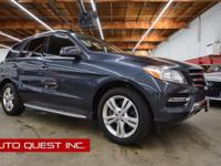 This 2014 Mercedes-Benz M-Class ML 350 BlueTEC features
