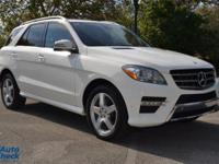 You're looking at a 2014 Mercedes-Benz M-Class
