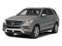 Black 2014 Mercedes-Benz M-Class ML350 Base BlueTEC