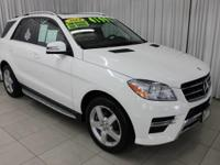 This 2014 Mercedes-Benz M-Class ML350 is proudly