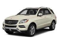 Options:  2014 Mercedes M-Class Ml 350|Steel Grey