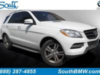 Options:  2014 Mercedes M-Class Ml350|Polar White/|V6