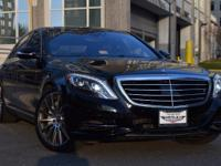 This Mercedes Benz S-Class S550 4MATIC 7-Speed