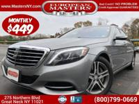 This Incredible Grey 2014 Mercedes-Benz S550 4Matic