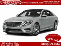 This Beautiful Grey 2014 Mercedes-Benz S550 4Matic
