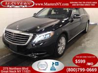 This Wonderful Black 2014 Mercedes-Benz S550 4Matic