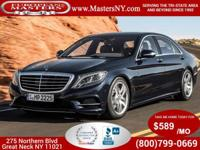 This Incredible Black 2014 Mercedes-Benz S550 4Matic