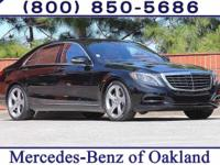 2014 CARFAX One-Owner. S-Class S550 Mercedes-Benz Clean