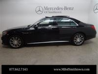 Clean CARFAX. 2014 Mercedes-Benz S-Class S63 AMG 4MATIC
