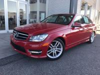 This Mercedes-Benz C-Class has a dependable Intercooled