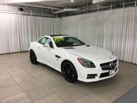 This 2014 Mercedes-Benz SLK-Class SLK250 is offered to