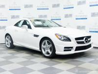 Check out this gently-used 2014 Mercedes-Benz SLK-Class