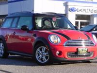 ** WELL MAINTAINED ONE OWNER MINI CLUBMAN ** This 2014