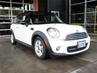 MINI Certified, ONLY 19,099 Miles! EPA 35 MPG Hwy/28