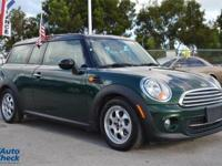 You're looking at a 2014 Mini Cooper Clubman in