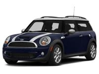 *GREAT MILES! *MOONROOF! *MINI CERTIFIED PRE-OWNED This