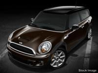 Options:  2014 Mini Cooper Clubman 2Dr Cpe S|4 Cylinder