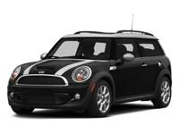 CARFAX 1-Owner, MINI Certified, GREAT MILES 30,802! EPA