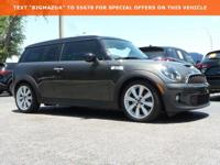 New Price! Clean CARFAX.2014 MINI Cooper S Clubman 1.6L