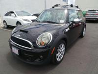 Look at this 2014 MINI Cooper Clubman S. Its Automatic
