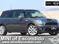 FUEL EFFICIENT 35 MPG Hwy/26 MPG City! MINI Certified,
