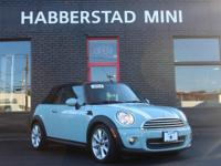 Absolutely stunning, this 2014 MINI Cooper Convertible