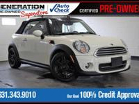 New Price! Pepper White 2014 MINI Cooper FWD 6-Speed