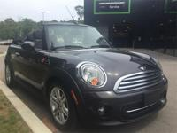 Low mileage 2014 MINI Cooper Convertible in Iced