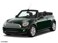 2014 MINI Cooper Convertible S  Certified Pre Owned!