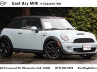 Options:  2014 Mini Cooper Convertible S|Ice