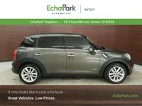 Boasts 31 Highway MPG and 25 City MPG! This MINI Cooper