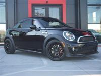 John Cooper Works with Midnight Black metallic outside