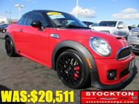 Load your family into the 2014 MINI Coupe! This vehicle